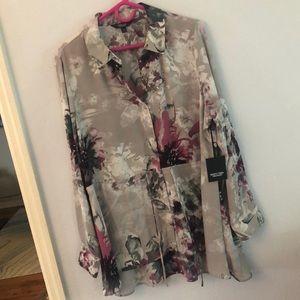 Vera wang blouse, xl, NWT